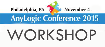 Workshop at the AnyLogic Conference 2015