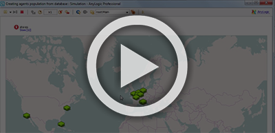 How-To Video: Placing Agents on a GIS-Map