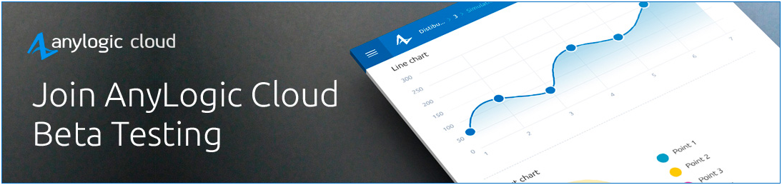 Sign Up for AnyLogic 8 Cloud Beta Testing