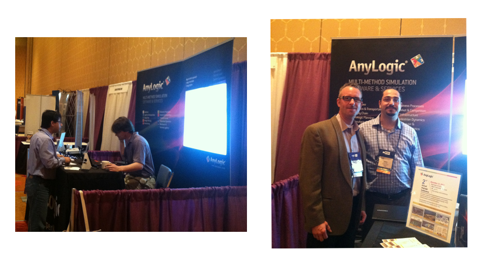 AnyLogic North America Attends INFORMS – San Antonio