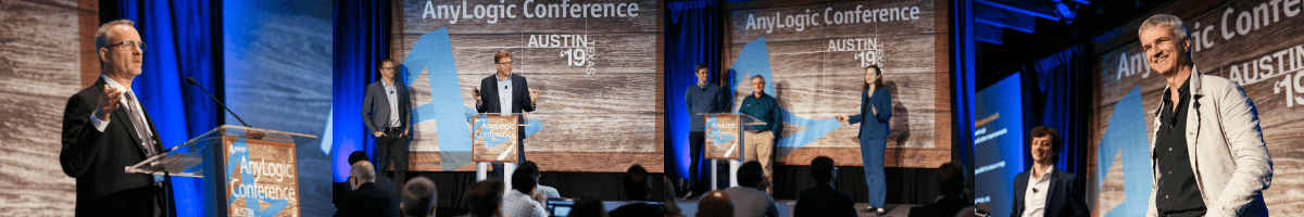 Presentations at the AnyLogic Conference 2019